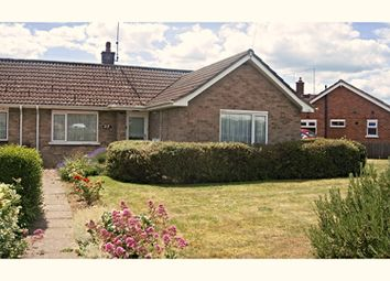 Thumbnail 2 bed semi-detached bungalow for sale in Berkeley Road, Peterborough