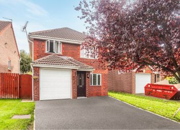 Thumbnail 3 bed detached house for sale in Moulton Close, Kingsmead