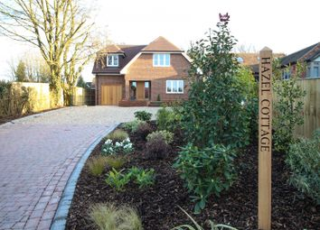 Thumbnail 4 bed detached house for sale in Horsepond Road, Gallowstree Common