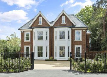 Thumbnail 5 bed semi-detached house for sale in Oatlands Drive, Weybridge