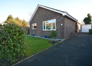 Thumbnail 3 bed detached bungalow for sale in Drury Close, Kessingland, Lowestoft