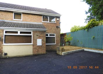 Thumbnail 3 bedroom semi-detached house for sale in Glanymor Park, Loughor, Swansea