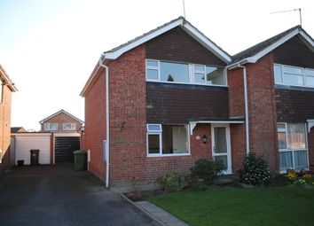 Thumbnail 3 bed semi-detached house to rent in Rowan Road, Market Drayton