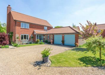 Thumbnail 4 bed detached house for sale in Castle Green, Mileham, King's Lynn