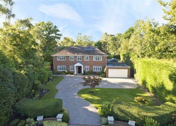 Thumbnail 5 bed detached house for sale in Eriswell Crescent, Burwood Park, Walton-On-Thames, Surrey