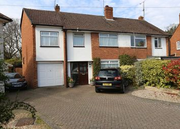 Thumbnail 4 bed semi-detached house for sale in Fawcett Crescent, Woodley, Reading