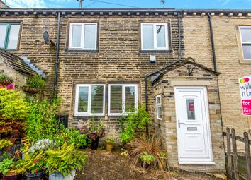 Thumbnail 2 bed terraced house for sale in Burrwood Terrace, Holywell Green, Halifax