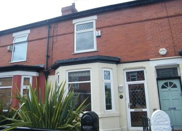Thumbnail 2 bed terraced house to rent in Firwood Avenue, Urmston, Manchester