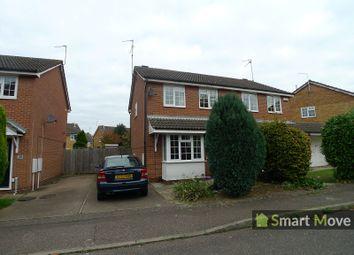 Thumbnail 3 bed semi-detached house to rent in Flamborough Close, Woodston, Peterborough, Cambridgeshire.