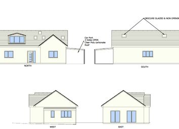 Thumbnail 4 bed detached bungalow for sale in Meadow Way, Plympton, Plymouth