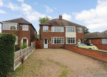 Thumbnail 3 bed detached house for sale in Liberty Road, Glenfield, Leicester