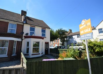 Thumbnail 2 bed end terrace house for sale in Black Bull Road, Folkestone