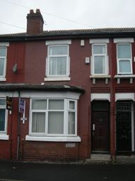 Thumbnail 3 bedroom terraced house to rent in Heald Place, Rusholme, Manchester