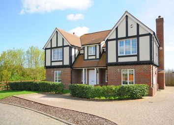 Thumbnail 5 bed detached house to rent in Meadow View, Redbourn, St.Albans