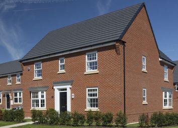 "Thumbnail 4 bed detached house for sale in ""Layton"" at Village Street, Runcorn"