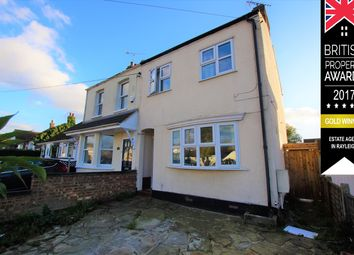 Thumbnail 2 bed semi-detached house for sale in Grove Road, Rayleigh