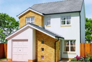 Thumbnail 4 bedroom detached house for sale in Calder Grove, Caldercruix, North Lanarkshire