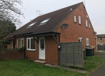 Thumbnail 1 bed semi-detached house to rent in Quantock Rise, Shepshed