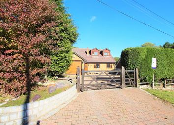 Thumbnail 5 bed detached house for sale in Church Road, West Kingsdown, Sevenoaks