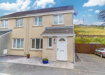 3 bed semi-detached house for sale in Heol Llwynffynon, Llangeinor, Bridgend. CF32