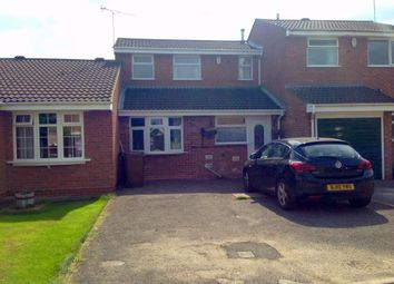 Thumbnail 3 bed terraced house to rent in Glamis Close, Stretton, Burton-On-Trent, Staffordshire