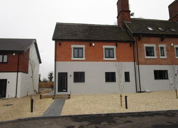 Thumbnail 3 bed town house for sale in Station Road, Kegworth, Derby