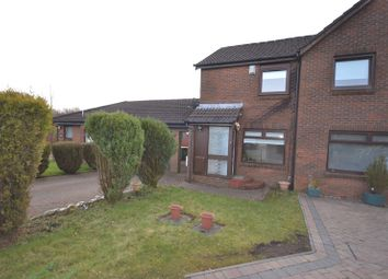 Thumbnail 2 bedroom semi-detached house for sale in Baldorran Crescent, Cumbernauld