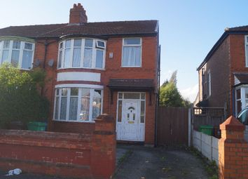 Thumbnail 3 bedroom semi-detached house to rent in Kingsway, Withington, Manchester
