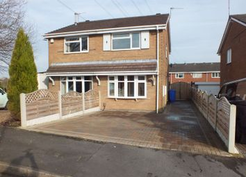 Thumbnail 2 bed semi-detached house for sale in Marshland Grove, Fegg Hayes, Stoke-On-Trent