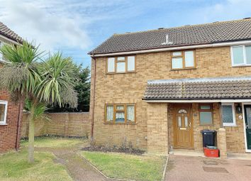 Thumbnail 3 bed semi-detached house for sale in Writtle Close, Clacton-On-Sea