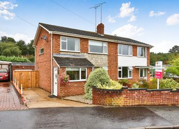 Thumbnail 3 bed semi-detached house for sale in Borrowdale Drive, Norwich
