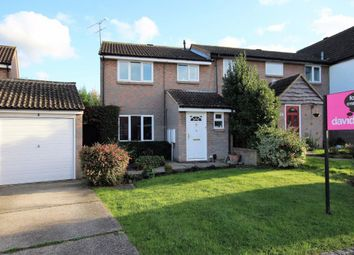 Thumbnail 3 bed end terrace house for sale in Wren Close, Wokingham