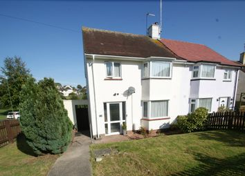 Thumbnail 3 bed semi-detached house for sale in Stanbury Road, Shiphay, Torquay