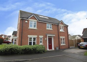 Thumbnail 5 bed detached house for sale in Hamlet Court, Chellaston, Derby