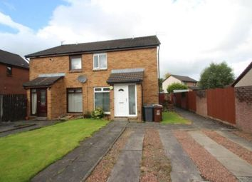 Thumbnail 1 bed semi-detached house for sale in Springholm Drive, Airdrie, North Lanarkshire