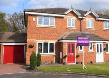Thumbnail 3 bed semi-detached house for sale in Inchfield, Skelmersdale