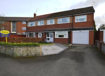 Thumbnail 4 bed semi-detached house for sale in Longlands Lane, Market Drayton