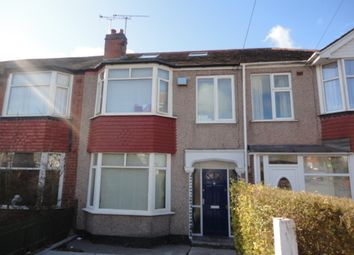 Thumbnail 1 bed terraced house to rent in The Mount, Coventry