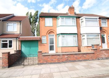 Thumbnail 3 bedroom semi-detached house for sale in Greenhill Road, Knighton, Leicester