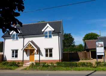 Thumbnail 3 bed detached house for sale in Mendlesham, Stowmarket, Suffolk