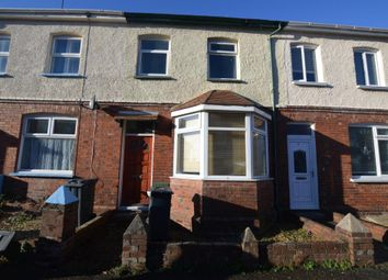 Thumbnail 2 bed terraced house for sale in Rosebery Road, Exmouth, Devon