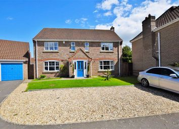 Thumbnail 4 bed property for sale in Pleasance Way, Manby, Louth