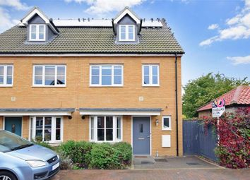 Thumbnail 4 bed town house for sale in Juliette Mews, Romford, Essex