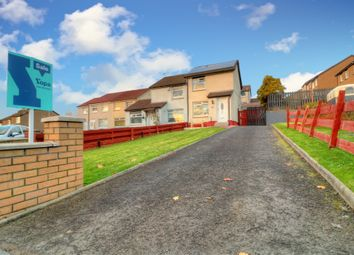 Thumbnail 2 bed semi-detached house for sale in Dougalston Road, Summerston, Glasgow