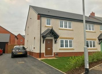 Thumbnail 3 bed semi-detached house to rent in Oak Way, Lichfield