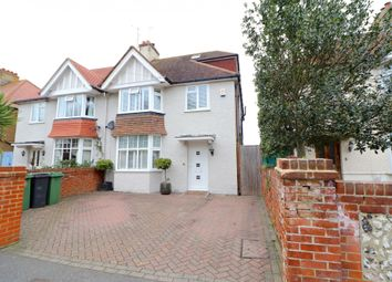 Thumbnail 4 bed semi-detached house for sale in Moy Avenue, Eastbourne, East Sussex