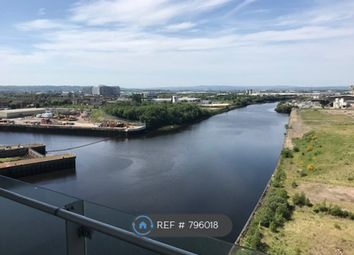 Thumbnail 1 bed flat to rent in Meadowside Quay Walk, Glasgow
