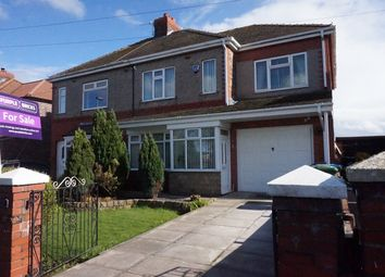 Thumbnail 3 bed semi-detached house for sale in Halegate Road, Widnes