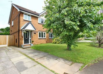 Thumbnail 3 bedroom semi-detached house for sale in Fitzgerald Close, Prestwich, Manchester