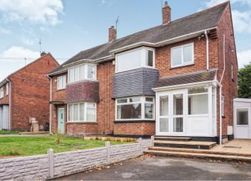 Thumbnail 3 bed semi-detached house for sale in Carisbrooke Road, Wolverhampton